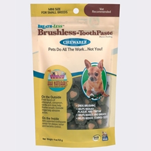 Ark Naturals Breathless Brushless Toothpaste for Mini Dogs