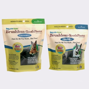 Ark Naturals Breathless Brushless Toothpaste for Small/Medium Dogs