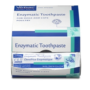 Virbac Animal Health C.E.T. Enzymatic Malt Toothpaste for Dogs and Cats