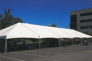 40ft X 100ft Twin Tube Plus Frame Tent