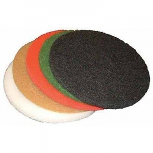 Virgina Abrasives Pads Tan Buffer 17 x 1