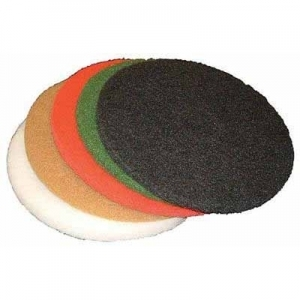 Virgina Abrasives Pads White Polish 16 x 1