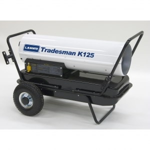 L.B. White  Tradesman K125 Portable Forced Air Heater