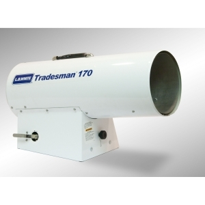 125-170KBTU PropanePortable Forced Air Heater