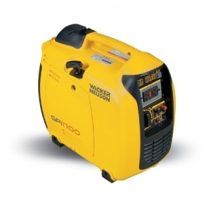 Wacker Neuson Portable Inverter Generator, 1650W