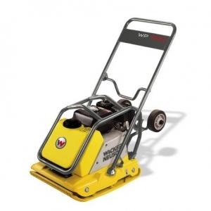 Wacker Neuson Premium Vibratory Plate w/ water tank & wheel kit