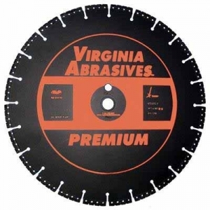 Virgina Abrasives Diamond 12x.125x1-20mm Rescue Blade
