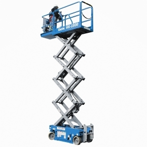 Genie 19 ft self-propelled electric scissor lift
