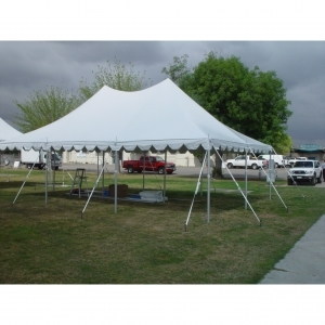 20' x 30' Canopy Pole Tent - Customer Set-Up