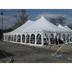 30X45 Tension Pole Tent, White