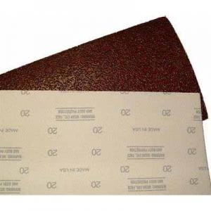 Virgina Abrasives Sheets General Purpose Silverline Hook & Loop 8 x 17-5/8 80-grit