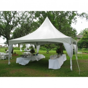 top tec sierra high peak tent 20 x 20 noonan grand rental springfield il. Black Bedroom Furniture Sets. Home Design Ideas