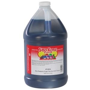 Gold Medal Blue Raspberry Sugar Free Sno-Kon Syrup
