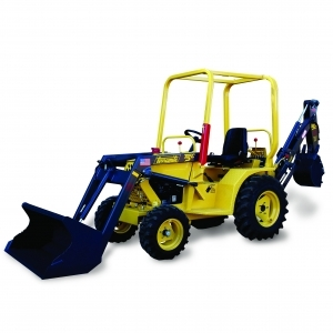 TerraQuip Compact Backhoe Loader