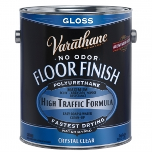 Rust-Oleum Varathane ® Gloss Floor Classic Clear (Water) - Gallons
