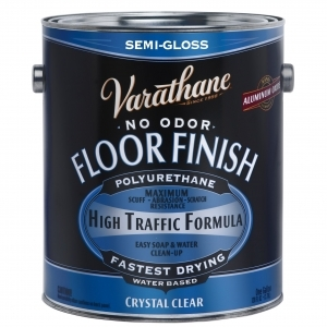 Rust-Oleum Varathane ®Semi-Gloss Floor Classic Clear (Water) - Gallons