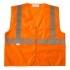 AKKO GLOBAL SV3310MZ Xtreme Value Class 2 Zip Vest