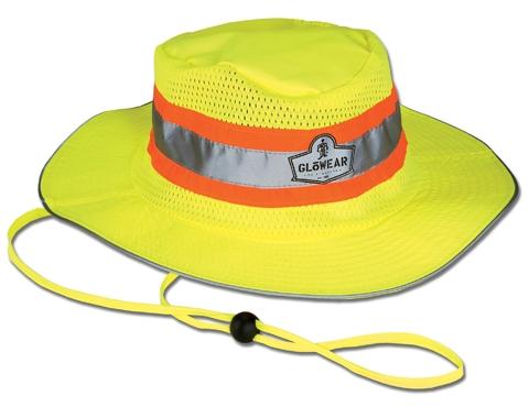 ERGODYNE GloWear® 8935 Class Headwear Hi-Vis Ranger Hat