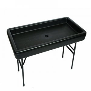 Fill N Chill 4ft Black Table