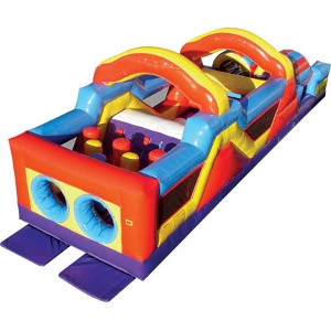 Monster Obstacle Course (aka bounce house, inflatable, moonwalk, jump)