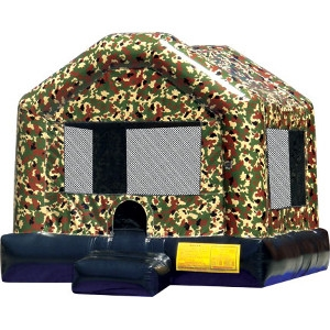 Camo Jump House  (aka bounce house, inflatable, moonwalk, jump)