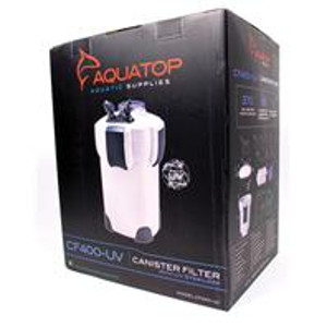 Aquatop 4 Stage Canister Filter With Uv Sterilizer
