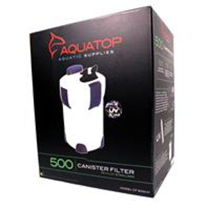 Aquatop 5 Stage Canister Filter With Uv Sterilizer