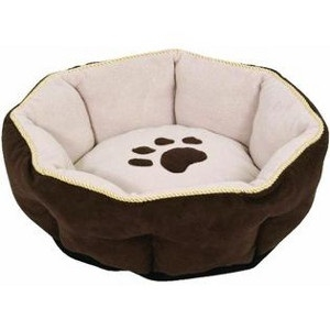 Sculptured Round Pet Bed