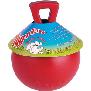 Tug-N-Toss Ball Red 8 Inch
