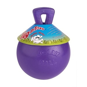 Tug-N-Toss Ball Purple 8 Inch