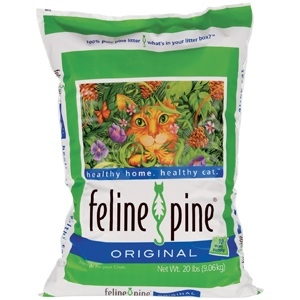 Feline Pine Cat Litter 20 Pound