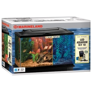 Bio-Wheel Glass LED Aquarium Kit 10 gal