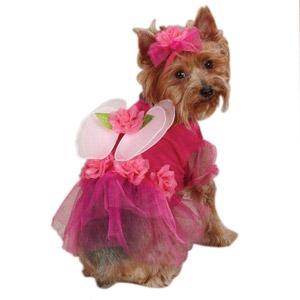 Casual Canine Flower Fairy Halloween Dog Costume