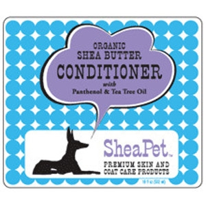 SheaPet Organic Shea Butter Conditioner with Panthenol & Tea Tree Oil