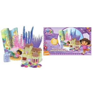 Dora Adventure Aquarium Decorating Kit