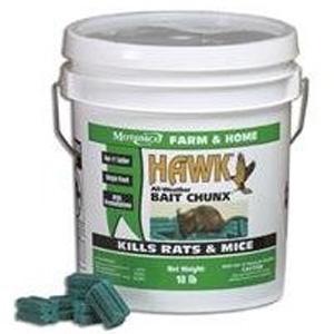 Motomco Hawk 9lb Chunk Pail