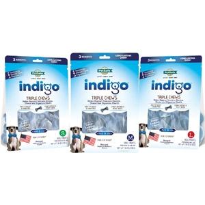 Indigo™ Triple Chews™ Dog Treat