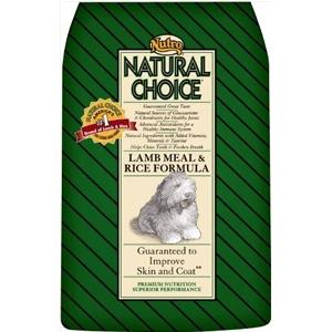 Nutro Natural Choice Lamb and Rice