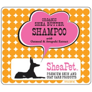 SheaPet Organic Shea Butter Shampoo with Oatmeal & Awapuhi Extract