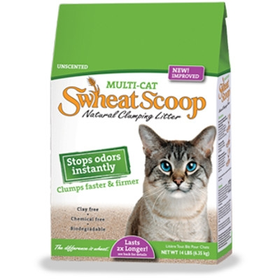 Swheat Scoop Multi-Cat Litter - 14 lbs