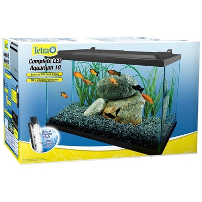 Tetra LED Deluxe Aquarium Kit, 10-Gallon