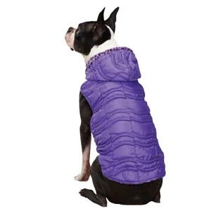 East Side Collection Vibrant Leopard Ultra Violet Dog Vest