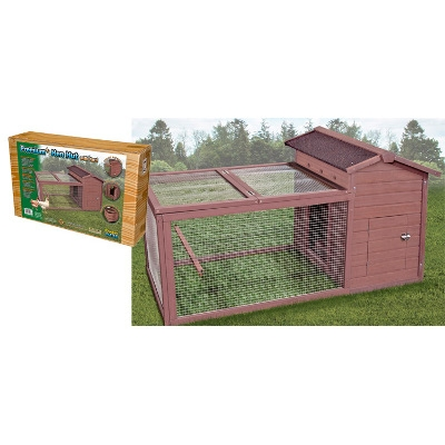 Hen Hut with Yard