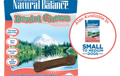 Dental Chews Sweet Potato & Chicken Meal Formula with Mango