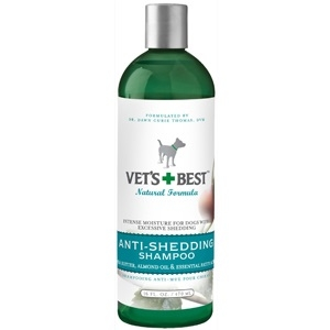 Vets Best Anti-Shedding Shmpoo 16 Ounce