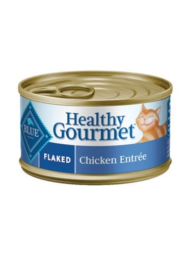 BLUE Healthy Gourmet® Flaked Chicken Entrée For Adult Cats
