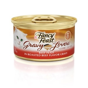 Fancy Feast Gravy Lovers Beef Feast Cat Food