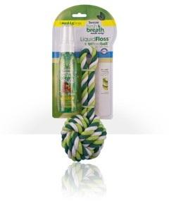 TriFlossBall + Liquid Floss