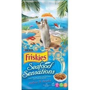 Friskies® Dry Cat Food Seafood Sensations®
