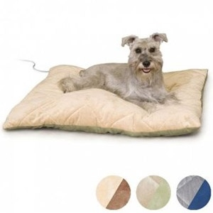 K & H Quilted Thermo-Bed™ Heated Dog Bed